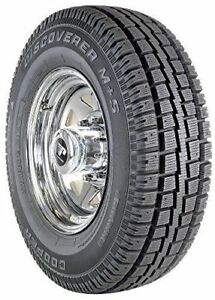 2 New Cooper Discoverer M S Winter Snow Tires P 235 75r16 235 75 16 2357516