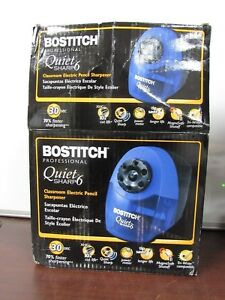 Stanley Bostitch Quiet Sharp 6 Classroom Electric Pencil Sharpener 12e