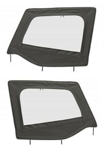 Smittybilt Upper Door Skins And Frames For 1987 1995 Jeep Wrangler Yj Soft Top