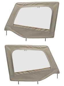 Smittybilt Upper Door Skin Frame Set For Soft Tops For 87 95 Jeep Wrangler Yj
