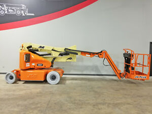 2006 Jlg E400ajpn 500lb Cushion Boom Lift Electric Man Lift W Jib