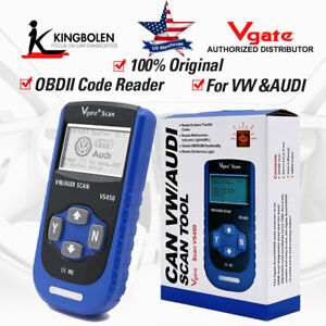Vgate Vs450 Auto Code Reader Scanner Vag Can Obdii Diagnostic Tool For Vw Audi