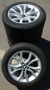 4 Bmw Winter Wheels Styling 594 Set Of Tyres X6 F16 Rdci 255 50 R19 107v Top