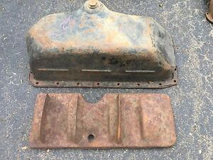 Model A T Ford Oil Pan Car Truck Engine Original Hot Rat Rod 1920s 1930s 40s