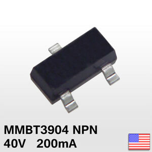20x 20pcs Mmbt3904 Sot 23 2n3904 Smd Npn Transistor 1am Fast Ship From Usa
