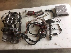 Edelbrock Fuel Injection Set Up For Small Block Chevy Sb Pro Flow