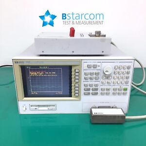 Hp agilent4291b Rf Impedance material Analyzer 001 test Station test Head 16195a