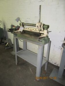 Diacro 24 Hand Operated Shear Model 4 With Stand