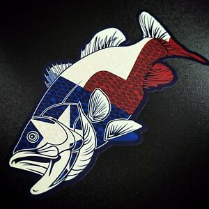 Texas Bass Fish Sticker