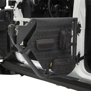 Smittybilt Rear Tube Doors W Molle Panels Door Straps 07 18 Jeep Wrangler Jk