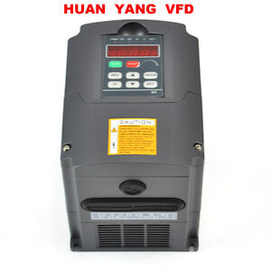Cnc Variable Frequency Drive Inverter Vfd 1 5kw 380v 2hp Huan Yang Brand