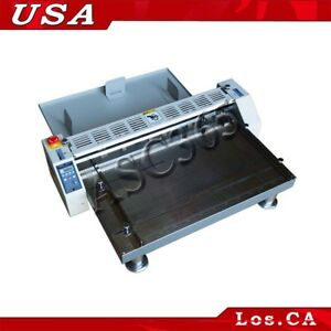 3in1 26 660mm Electric Creaser scorer perforator Paper Creasing Machine 110v