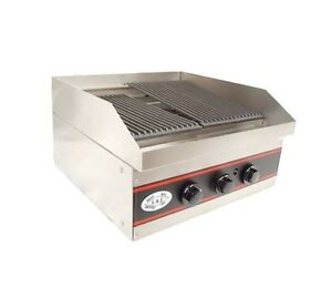 Gas Charbroiler Charcoal Broiler 24 Natural Gas Nsf