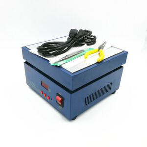 Electronic Hot Plate Preheat Preheating Station 800w 200 200 20mm Dhl