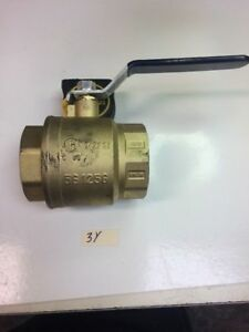 Nibco S580703 3 Two piece Bronze Ball Valve Fast Shipping Warranty