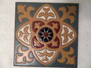 Mid Century Style Fireclay Handmade Clay Tile 3 San Jose Ca Local Sustainable