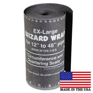 Flange Wizard Ww 19 X large Wrap 180 Long X 7 Wide Pipe 12 To 48 Diameter