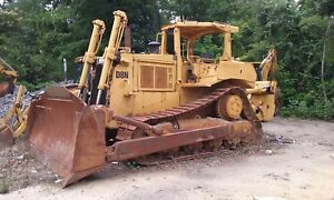 88 Cat D8n Dozer One Owner Since New ripper 16 000 Hours Well Serviced