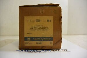 9998gg8 9998 Gg 8 Square D Parts Kit For 8501 G Relay 8 Pole New In Box