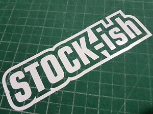Stock Ish Vinyl Decals Stickers Graphics Turbo Exhaust Brakes Rims Lights Led It