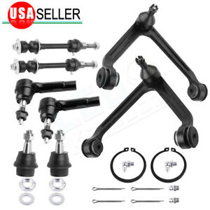 8pcs Upper Control Arm W Lower Ball Joint Kit For 2002 2005 Dodge Ram 1500 2wd