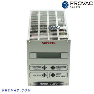 Varian Tv 250 Turbo Pump Controller Rebuilt By Provac Sales Inc