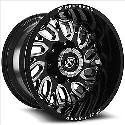 New Off Road Wheels 20 22 With Neg Offset Tire Wheel Packages Gm Ford Dodge