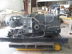 Edwards Drystar Vacuum Pump W us 30hp Motor 1020902j Used