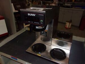 Bunn Cw Series Model Cwt15 3lwr Wrmr Pf Commercial Coffee Maker