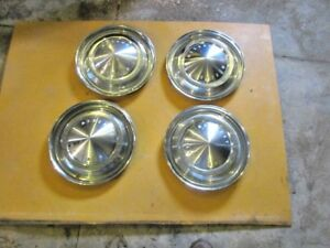 Mercury Meteor 14 Hubcaps Set Of 4