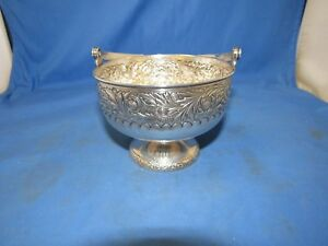 Gorham Sterling Silver 925 Handled Sugar Fruit Basket Bowl 1886 St Cloud