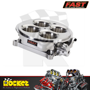 Fast Billet 4 Barrel 4150 Style 1375cfm Throttle Body Polished Fast307603p