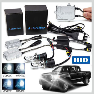 For Toyota Tacoma Hid Conversion 55w H4 Bi xenon Headlights Bulbs All Colors Kit