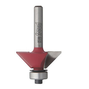 Freud Tools 40 106 1 3 4 X 2 3 16 Chamfer Router Bit 5 8 Carbide Height