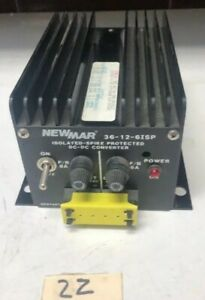 New Newmar 36 12 6isp Isolated spike Protected Dc dc Converter Warranty