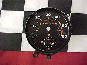 83 84 85 86 Chevy Monte Carlo Clock With Tach Face