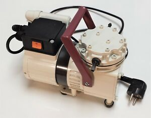 Knf Neuberger N022at 18 Ptfe Diaphragm Lab Vacuum Compressor Pump 230v 60hz