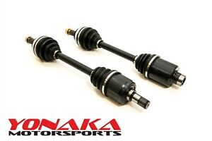 Yonaka B16 B16a Honda Civic Del Sol Pair Axles Driveshafts Cv Joints 250 Whp Cv