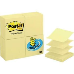 Post it 3 X 3 Pop up Nts pkg Of 24