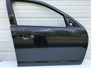 2010 2011 2012 Ford Fusion Sel Right Front Passenger Side Door Shell Black Oem
