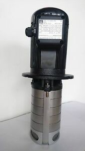 Multistage Cnc Machine Tool Coolant Pump 1 Hp 220 480v 5 Stages 226mm 9 Stem