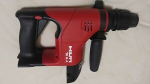 Hilti Te 6 a Cordless Rotary Hammer Drill Pre Owned