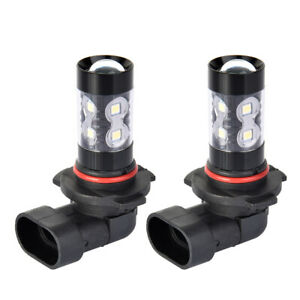 2 White 200w Cree 9145 9140 H10 Led Bulb Fog Driving Light For Ford F 150 Escape