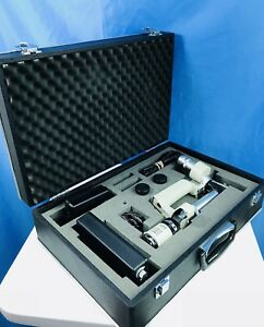 Shin Nippon Hand Held Slit Lamp Sl 65b Portable Rechargeable Type Extra 16x