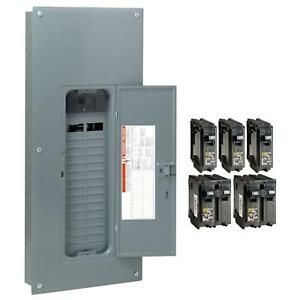 Square D Homeline 200 Amp 30 space 60 circuit Indoor Main Breaker Box