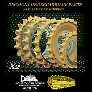 Sprocket Group X2 D3b D4c W Hardware Both Sides Replacement Cat Caterpillar