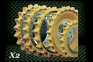 Case 850l Weld On Rim X2 Replacement Dozer Bulldozer New Crawler Sprocket
