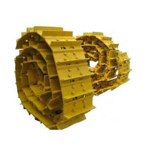 Two John Deere 650g Dozer Track Groups 38 Link Chains W 18 Single Bar Pads