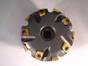Ingersoll Indexable 3 Face Mill Copy Mill Radius 1 Arbor 6w5b03r10 D11
