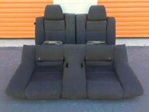 Ford Mustang Gt Coupe Rear Seats 2013 2014 Oem